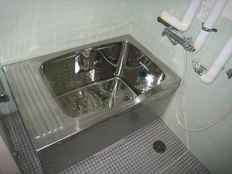 浴槽入れ替え